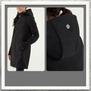 Lululemon City Softshell *Tweed * EUC